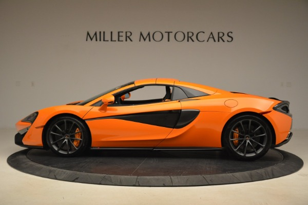 Used 2018 McLaren 570S Spider Convertible for sale Sold at Aston Martin of Greenwich in Greenwich CT 06830 16