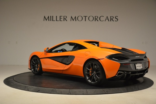 Used 2018 McLaren 570S Spider Convertible for sale Sold at Aston Martin of Greenwich in Greenwich CT 06830 17