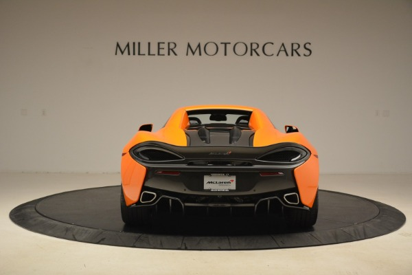 Used 2018 McLaren 570S Spider Convertible for sale Sold at Aston Martin of Greenwich in Greenwich CT 06830 18