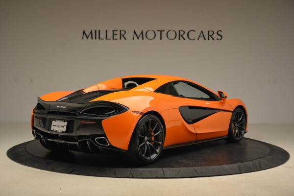 Used 2018 McLaren 570S Spider Convertible for sale Sold at Aston Martin of Greenwich in Greenwich CT 06830 19