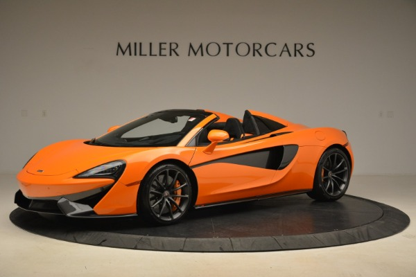 Used 2018 McLaren 570S Spider Convertible for sale Sold at Aston Martin of Greenwich in Greenwich CT 06830 2