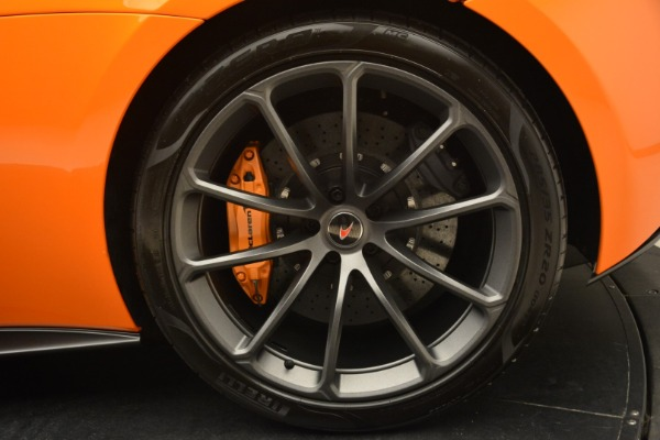 Used 2018 McLaren 570S Spider Convertible for sale Sold at Aston Martin of Greenwich in Greenwich CT 06830 24