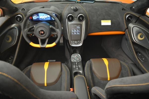 Used 2018 McLaren 570S Spider Convertible for sale Sold at Aston Martin of Greenwich in Greenwich CT 06830 28