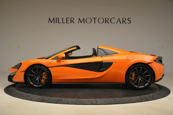 Used 2018 McLaren 570S Spider Convertible for sale Sold at Aston Martin of Greenwich in Greenwich CT 06830 3