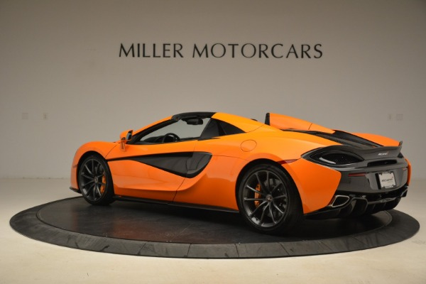 Used 2018 McLaren 570S Spider Convertible for sale Sold at Aston Martin of Greenwich in Greenwich CT 06830 4