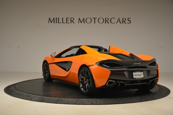 Used 2018 McLaren 570S Spider Convertible for sale Sold at Aston Martin of Greenwich in Greenwich CT 06830 5