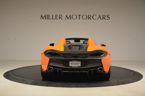 Used 2018 McLaren 570S Spider Convertible for sale Sold at Aston Martin of Greenwich in Greenwich CT 06830 6