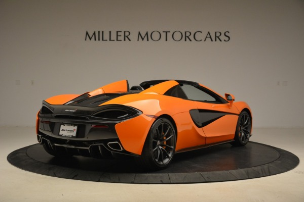 Used 2018 McLaren 570S Spider Convertible for sale Sold at Aston Martin of Greenwich in Greenwich CT 06830 7