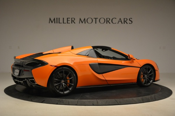 Used 2018 McLaren 570S Spider Convertible for sale Sold at Aston Martin of Greenwich in Greenwich CT 06830 8