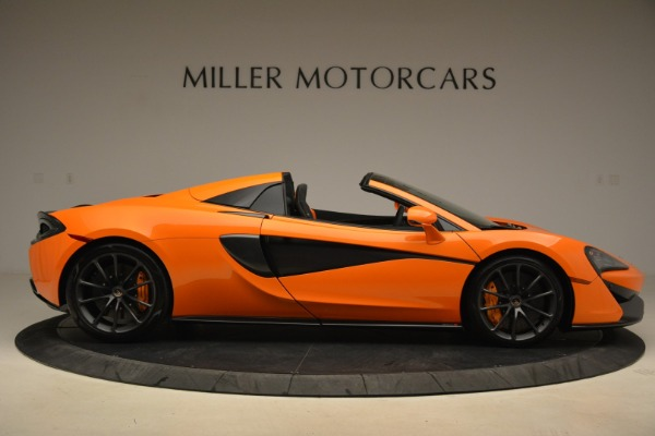 Used 2018 McLaren 570S Spider Convertible for sale Sold at Aston Martin of Greenwich in Greenwich CT 06830 9
