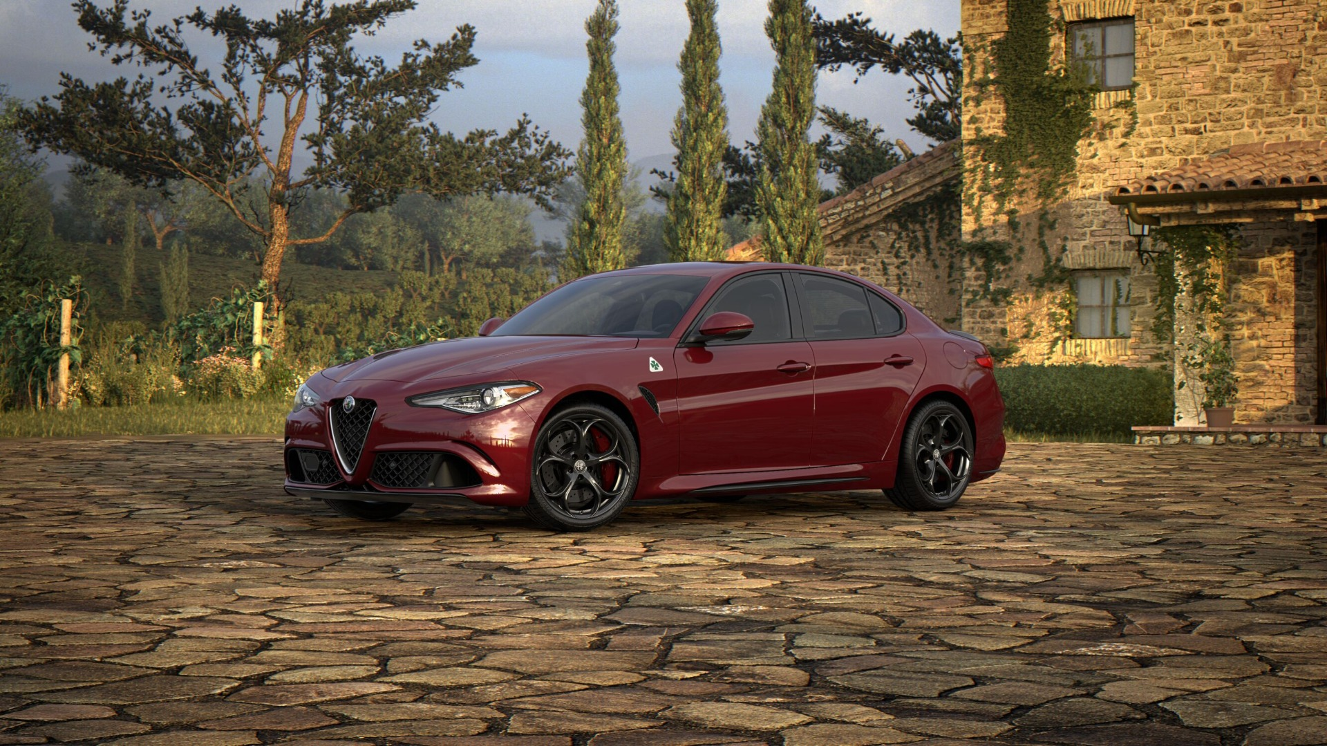 New 2018 Alfa Romeo Giulia Quadrifoglio for sale Sold at Aston Martin of Greenwich in Greenwich CT 06830 1