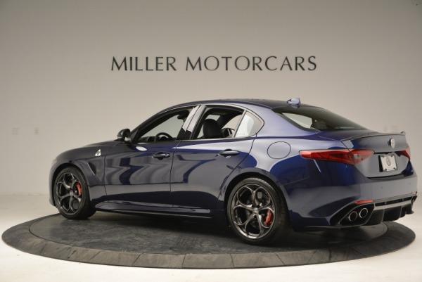 New 2018 Alfa Romeo Giulia Quadrifoglio for sale Sold at Aston Martin of Greenwich in Greenwich CT 06830 4
