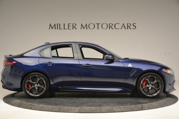 New 2018 Alfa Romeo Giulia Quadrifoglio for sale Sold at Aston Martin of Greenwich in Greenwich CT 06830 9
