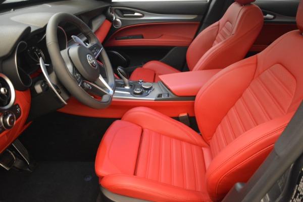 New 2018 Alfa Romeo Stelvio Ti Sport Q4 for sale Sold at Aston Martin of Greenwich in Greenwich CT 06830 17
