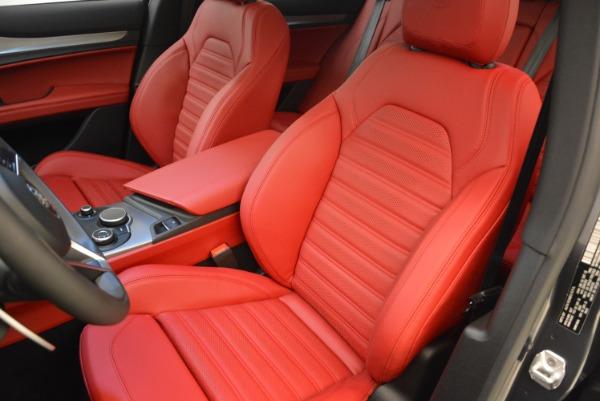 New 2018 Alfa Romeo Stelvio Ti Sport Q4 for sale Sold at Aston Martin of Greenwich in Greenwich CT 06830 18