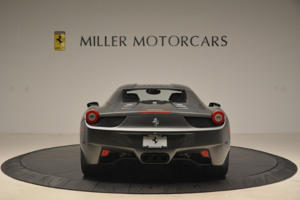 Used 2013 Ferrari 458 Spider for sale Sold at Aston Martin of Greenwich in Greenwich CT 06830 18