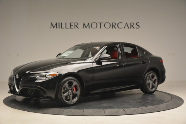 New 2018 Alfa Romeo Giulia Sport Q4 for sale Sold at Aston Martin of Greenwich in Greenwich CT 06830 2