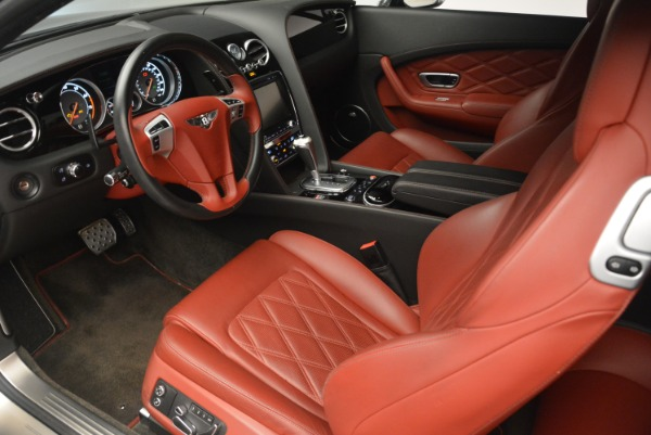 Used 2015 Bentley Continental GT V8 S for sale Sold at Aston Martin of Greenwich in Greenwich CT 06830 18