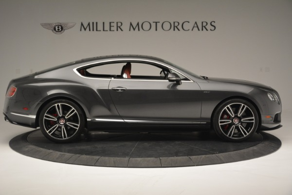 Used 2015 Bentley Continental GT V8 S for sale Sold at Aston Martin of Greenwich in Greenwich CT 06830 9
