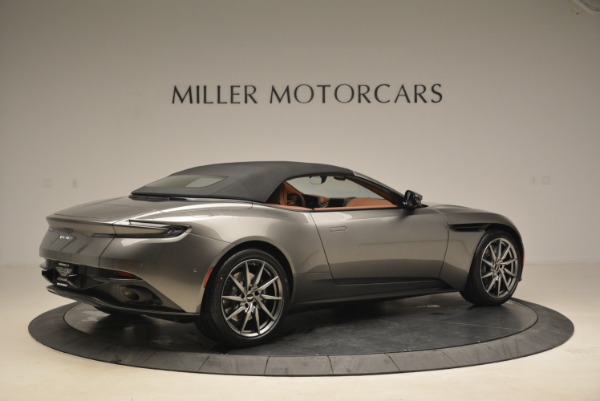 New 2019 Aston Martin DB11 Volante for sale Sold at Aston Martin of Greenwich in Greenwich CT 06830 20