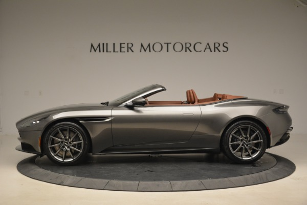 New 2019 Aston Martin DB11 Volante for sale Sold at Aston Martin of Greenwich in Greenwich CT 06830 3