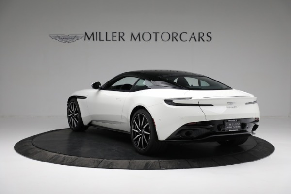 New 2018 Aston Martin DB11 V8 Coupe for sale Sold at Aston Martin of Greenwich in Greenwich CT 06830 4