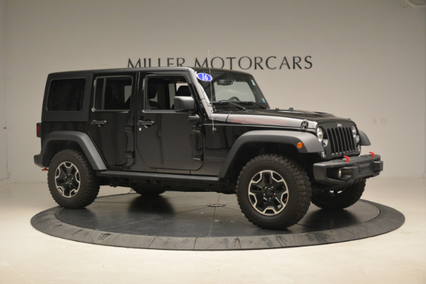 Used 2016 Jeep Wrangler Unlimited Rubicon for sale Sold at Aston Martin of Greenwich in Greenwich CT 06830 10