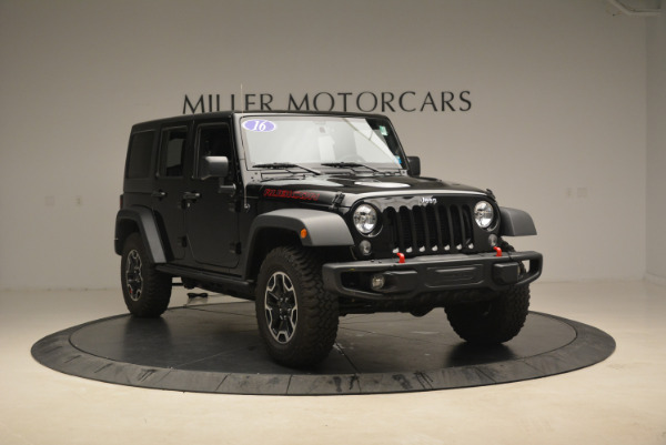 Used 2016 Jeep Wrangler Unlimited Rubicon for sale Sold at Aston Martin of Greenwich in Greenwich CT 06830 11