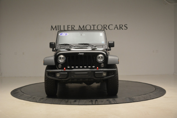 Used 2016 Jeep Wrangler Unlimited Rubicon for sale Sold at Aston Martin of Greenwich in Greenwich CT 06830 12