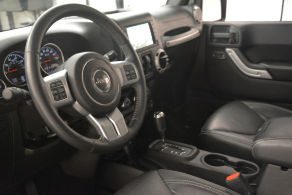 Used 2016 Jeep Wrangler Unlimited Rubicon for sale Sold at Aston Martin of Greenwich in Greenwich CT 06830 13