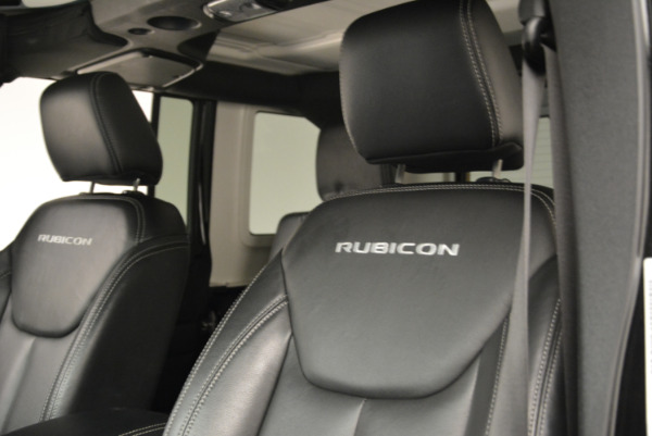Used 2016 Jeep Wrangler Unlimited Rubicon for sale Sold at Aston Martin of Greenwich in Greenwich CT 06830 15