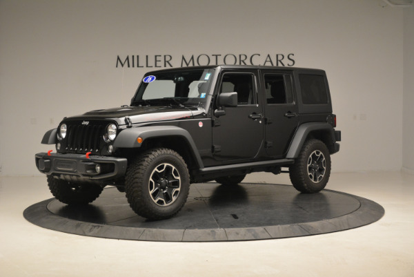 Used 2016 Jeep Wrangler Unlimited Rubicon for sale Sold at Aston Martin of Greenwich in Greenwich CT 06830 2