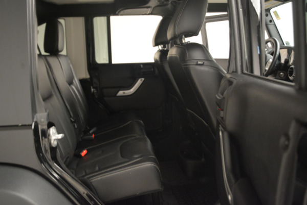Used 2016 Jeep Wrangler Unlimited Rubicon for sale Sold at Aston Martin of Greenwich in Greenwich CT 06830 22