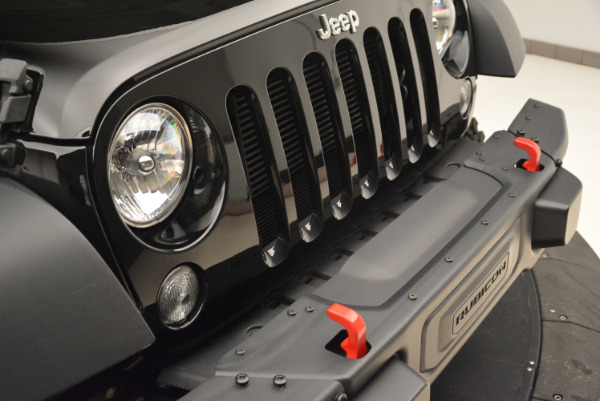 Used 2016 Jeep Wrangler Unlimited Rubicon for sale Sold at Aston Martin of Greenwich in Greenwich CT 06830 23