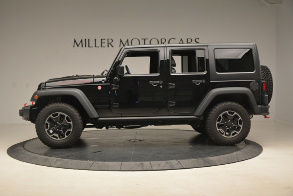 Used 2016 Jeep Wrangler Unlimited Rubicon for sale Sold at Aston Martin of Greenwich in Greenwich CT 06830 3