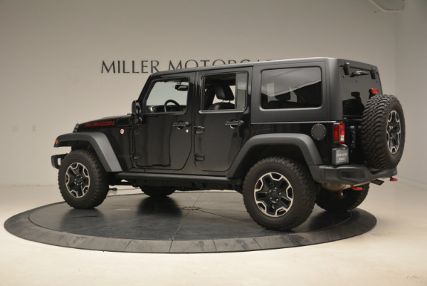Used 2016 Jeep Wrangler Unlimited Rubicon for sale Sold at Aston Martin of Greenwich in Greenwich CT 06830 4