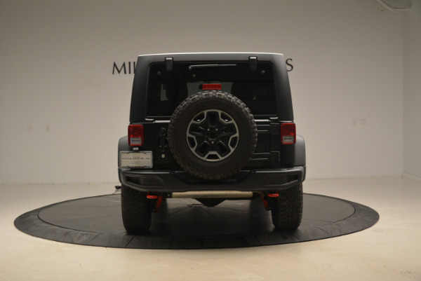 Used 2016 Jeep Wrangler Unlimited Rubicon for sale Sold at Aston Martin of Greenwich in Greenwich CT 06830 6