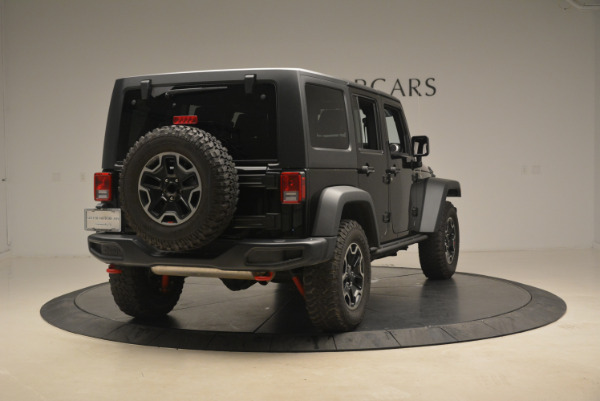 Used 2016 Jeep Wrangler Unlimited Rubicon for sale Sold at Aston Martin of Greenwich in Greenwich CT 06830 7