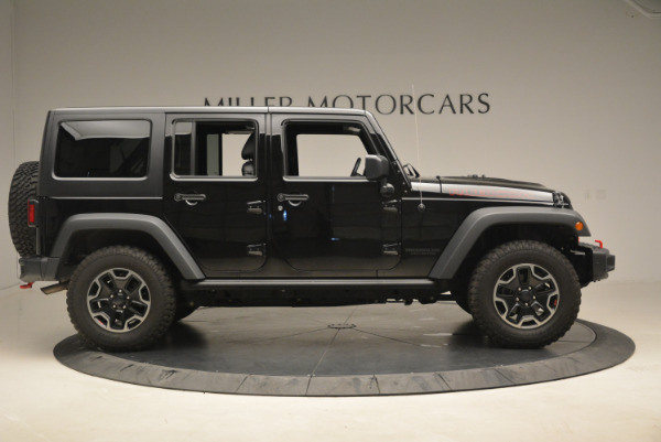 Used 2016 Jeep Wrangler Unlimited Rubicon for sale Sold at Aston Martin of Greenwich in Greenwich CT 06830 9