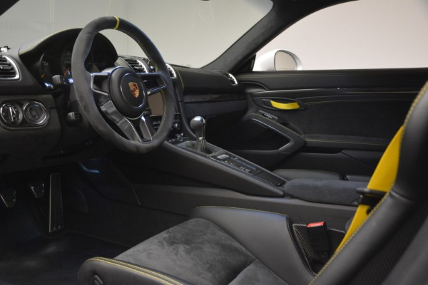 Used 2016 Porsche Cayman GT4 for sale Sold at Aston Martin of Greenwich in Greenwich CT 06830 15