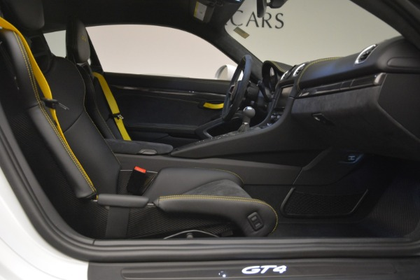 Used 2016 Porsche Cayman GT4 for sale Sold at Aston Martin of Greenwich in Greenwich CT 06830 19