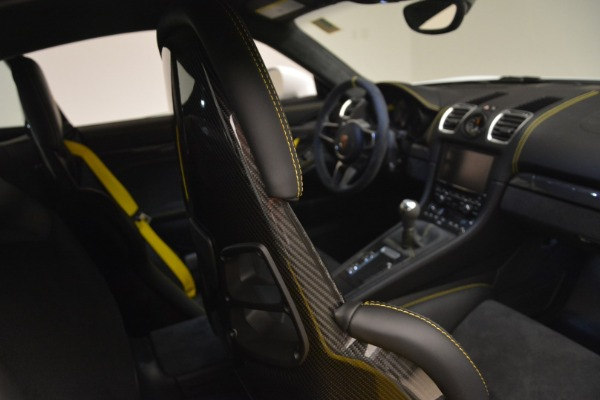 Used 2016 Porsche Cayman GT4 for sale Sold at Aston Martin of Greenwich in Greenwich CT 06830 22