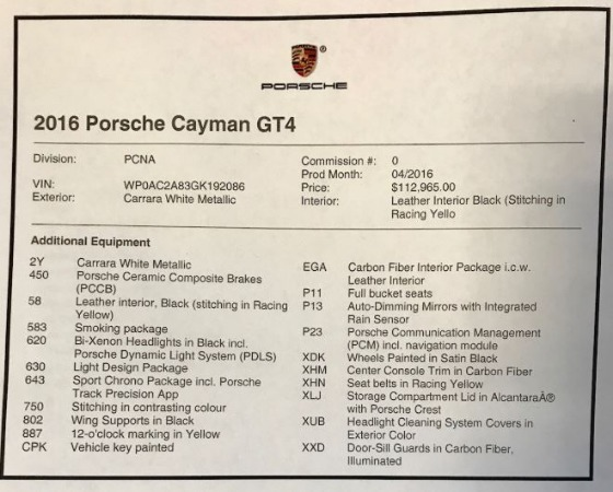 Used 2016 Porsche Cayman GT4 for sale Sold at Aston Martin of Greenwich in Greenwich CT 06830 23
