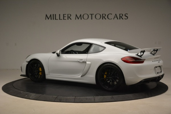 Used 2016 Porsche Cayman GT4 for sale Sold at Aston Martin of Greenwich in Greenwich CT 06830 4