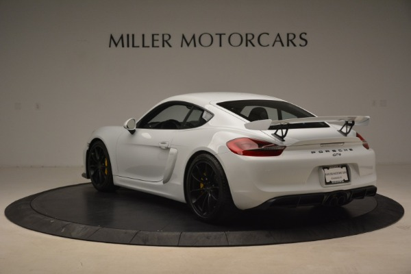 Used 2016 Porsche Cayman GT4 for sale Sold at Aston Martin of Greenwich in Greenwich CT 06830 5
