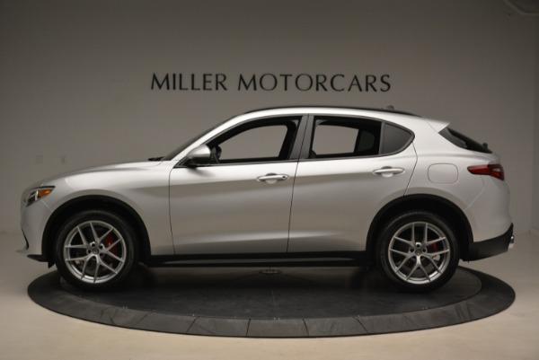 New 2018 Alfa Romeo Stelvio Ti Sport Q4 for sale Sold at Aston Martin of Greenwich in Greenwich CT 06830 3