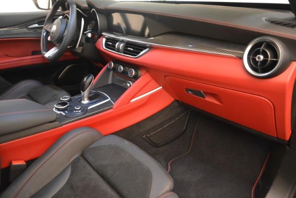 New 2018 Alfa Romeo Stelvio Quadrifoglio for sale Sold at Aston Martin of Greenwich in Greenwich CT 06830 19