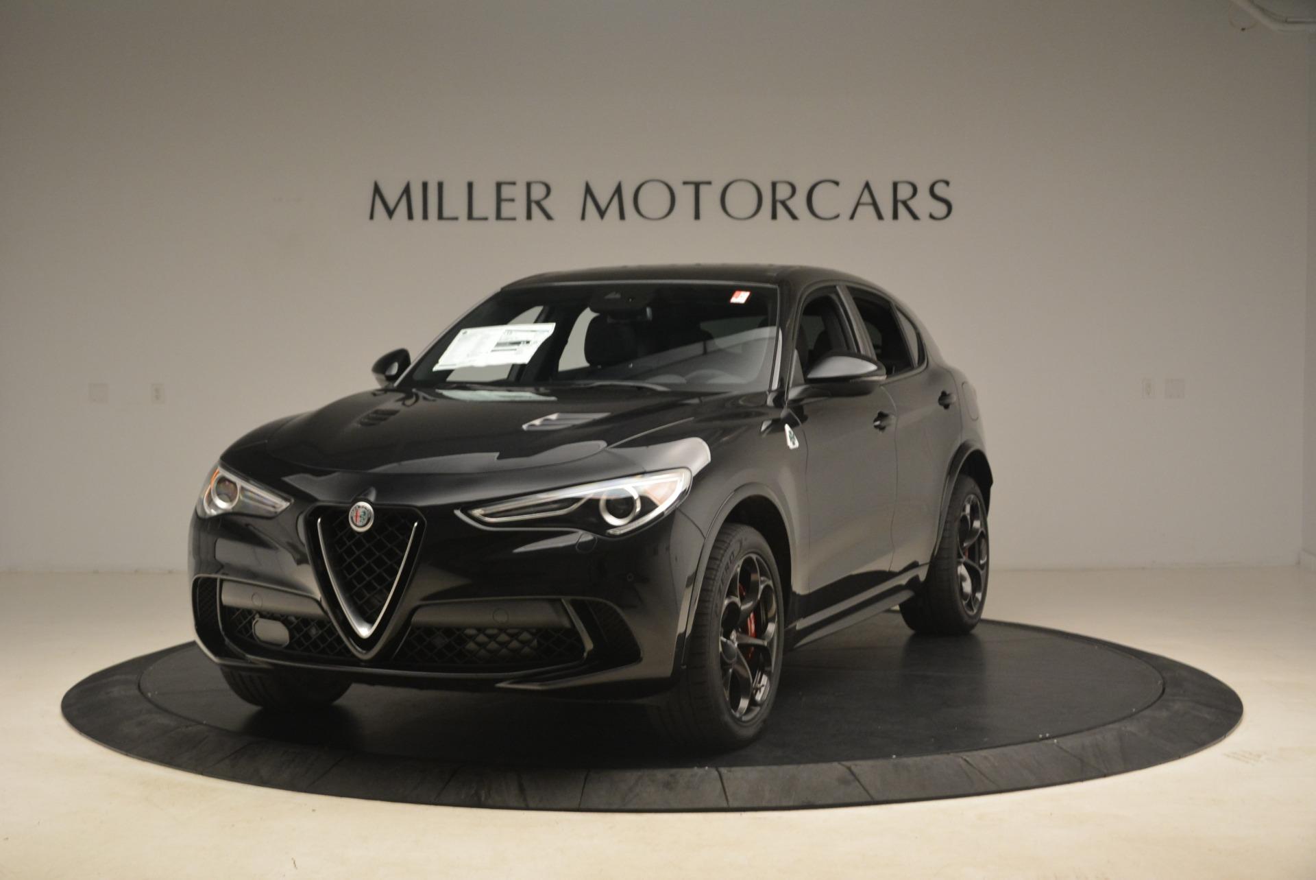 New 2018 Alfa Romeo Stelvio Quadrifoglio for sale Sold at Aston Martin of Greenwich in Greenwich CT 06830 1