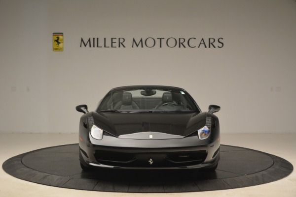 Used 2013 Ferrari 458 Spider for sale Sold at Aston Martin of Greenwich in Greenwich CT 06830 12