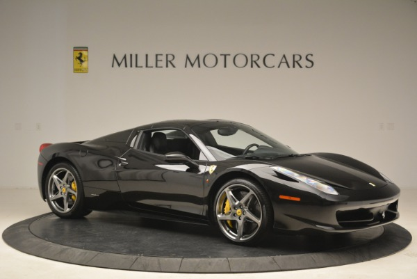 Used 2013 Ferrari 458 Spider for sale Sold at Aston Martin of Greenwich in Greenwich CT 06830 22
